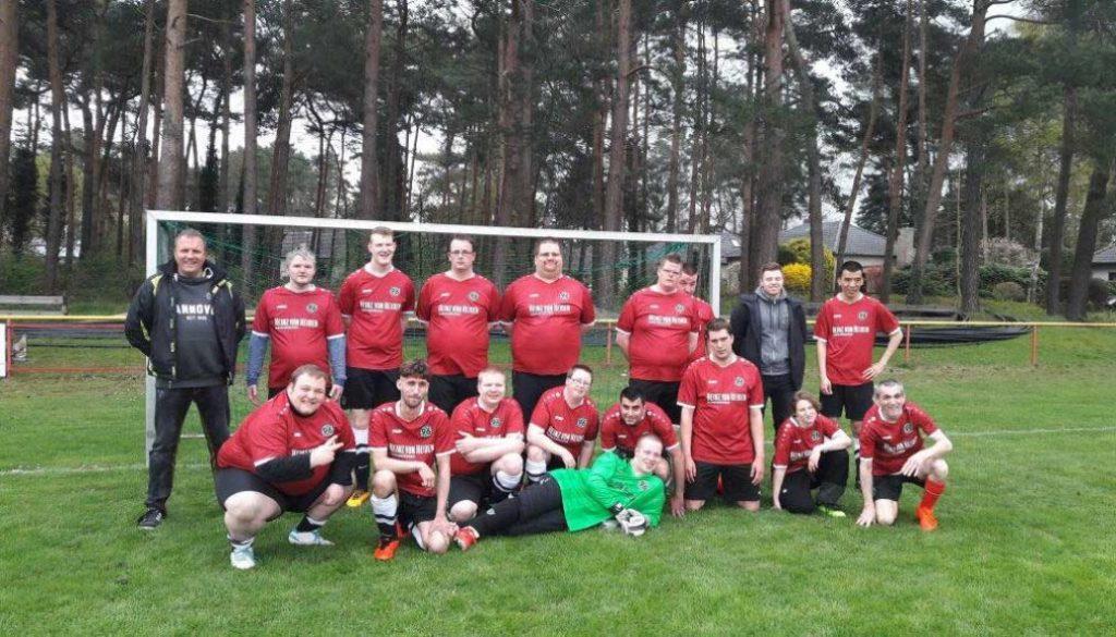 Handicap Mannschaft Fussball