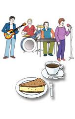 Live Musik mit Kaffee und Kuchen