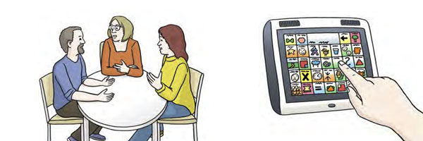 Sprechstunde Unterstützte Kommunikation