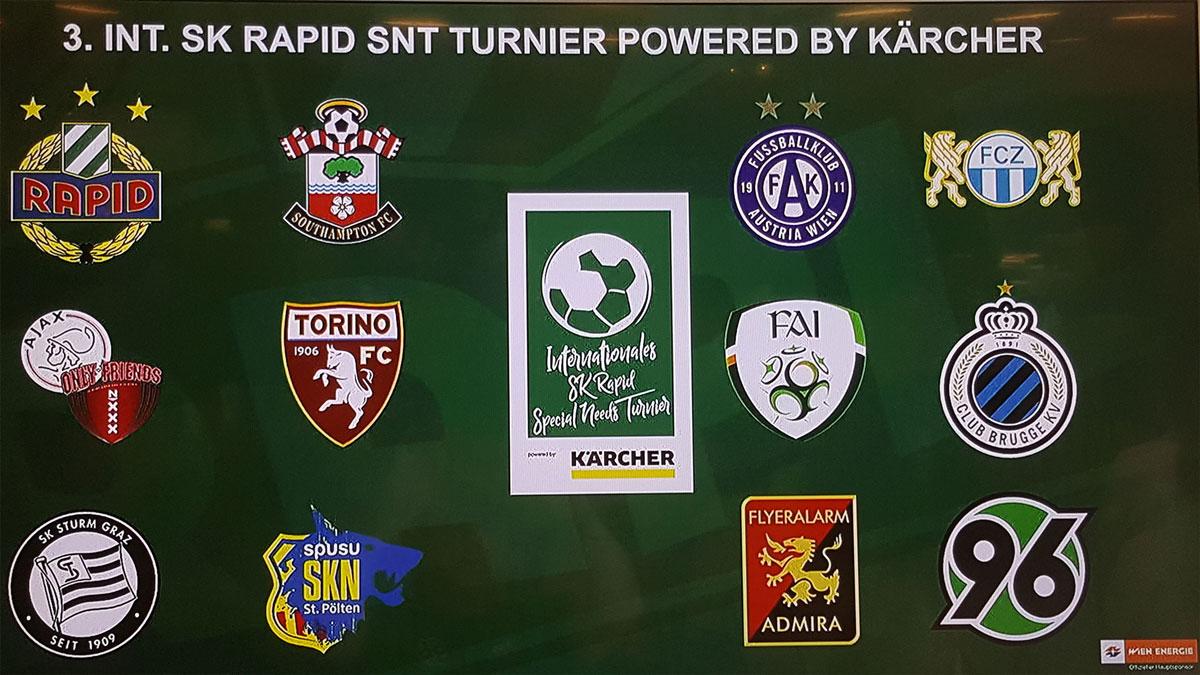 Teilnehmer Tunier Rapid