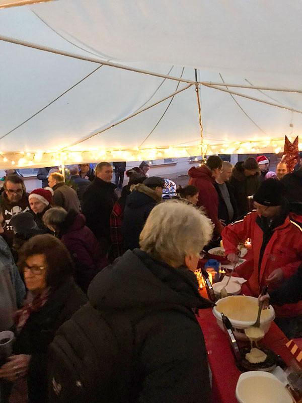 Weihnachtmarkt Weberstrasse