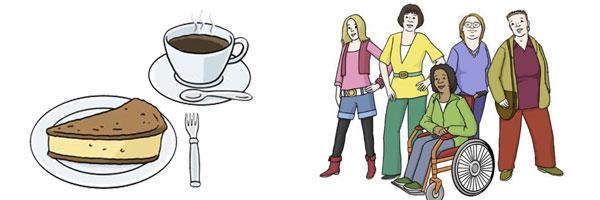 Café mit Erzählfrauen