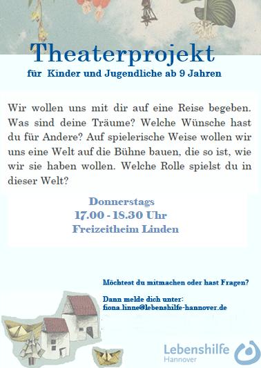 Theaterprojekt für Kinder und Jugendliche