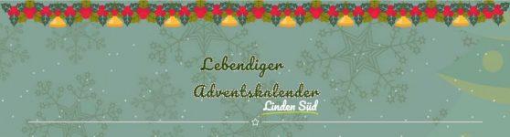 Lebendiger, digitaler Adventskalender Linden-Süd 2020