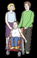 Von Eltern für Kinder mit geistiger Behinderung
