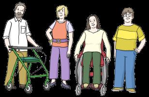 Für Menschen mit und ohne Behinderung