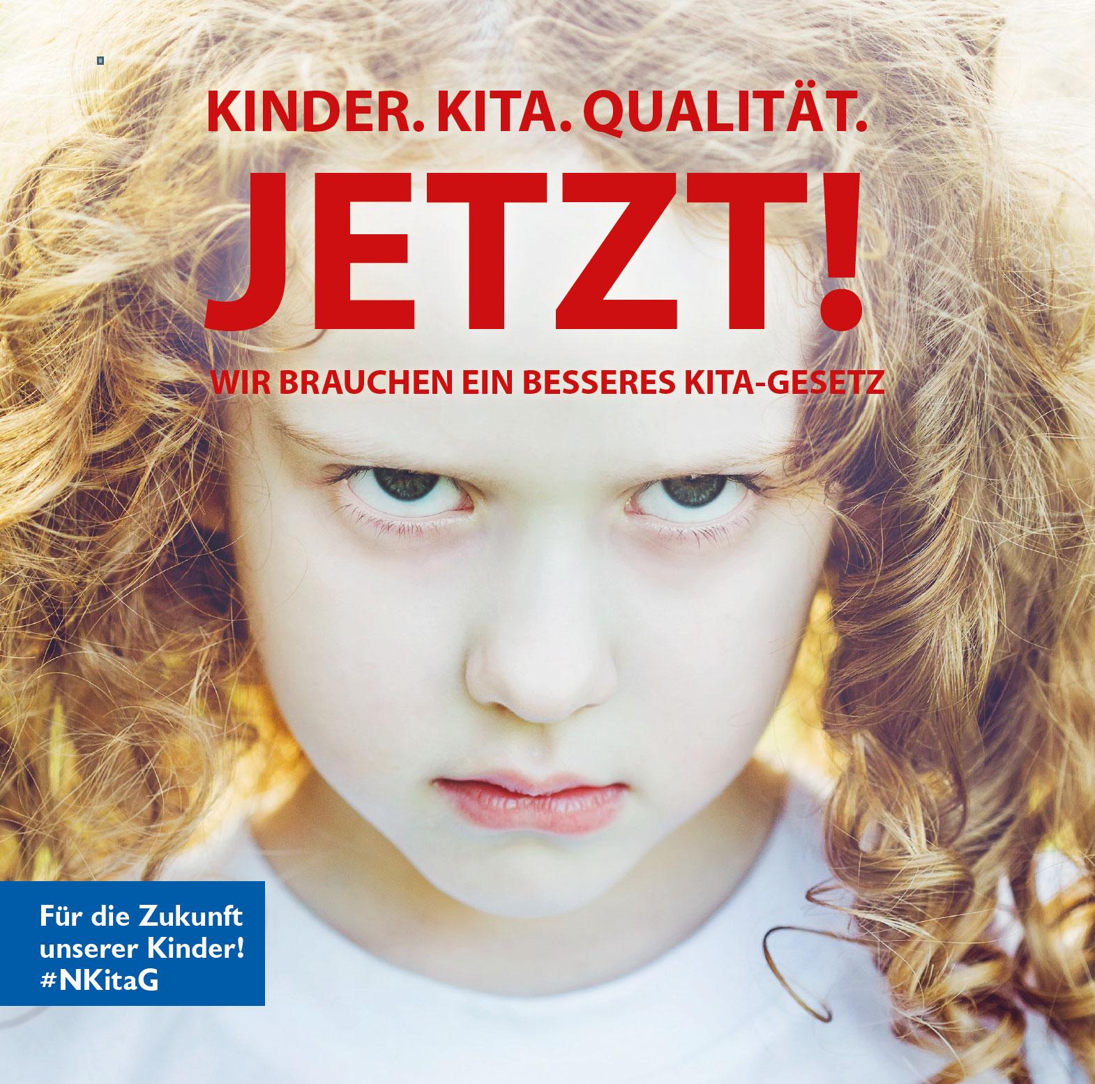 Für die Zukunft unserer Kinder! #NKitaG
