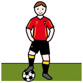 Fussbal-Spieler