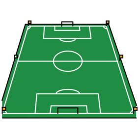 Fussball-Feld
