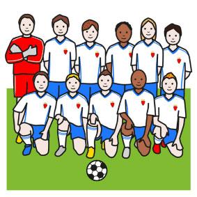 Fussball-Mannschaft