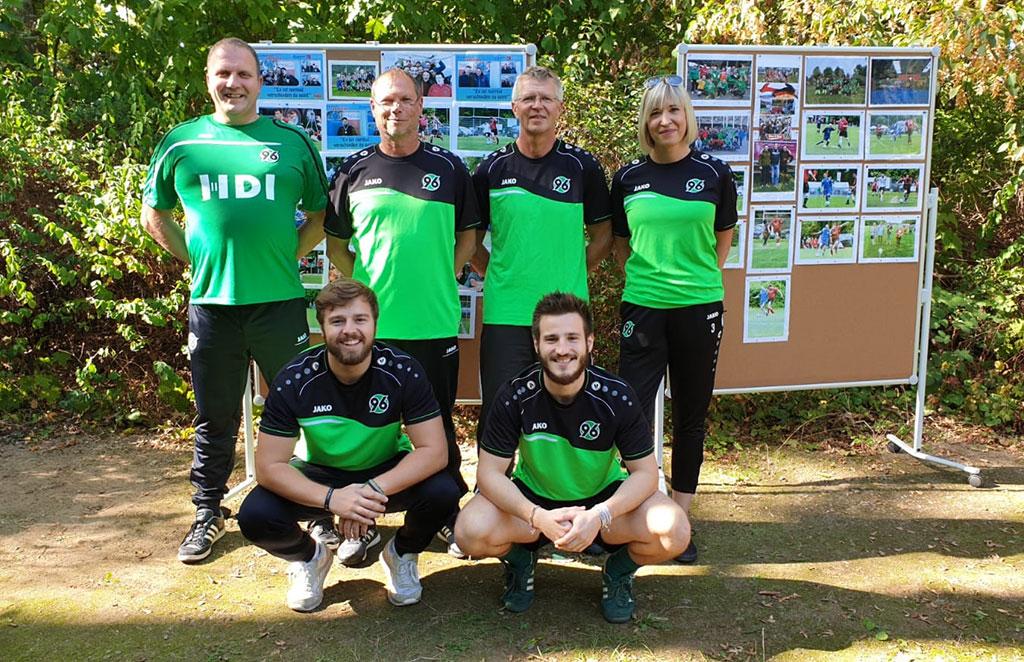 Fussball Betreuer Team