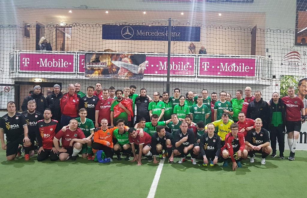 Fussball Gruppenbild
