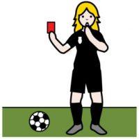 Schiedsrichterin