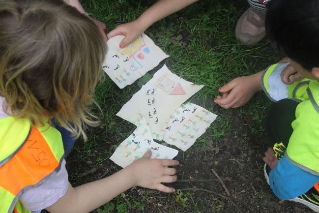 Schatzsuche im Kindergarten Forst Mecklenheide