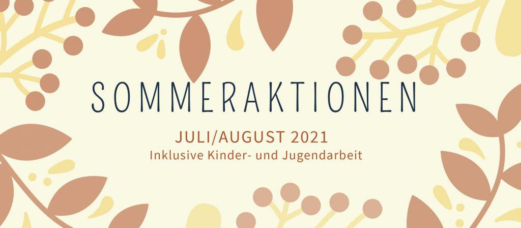 Sommeraktionen Juli/August der KiK